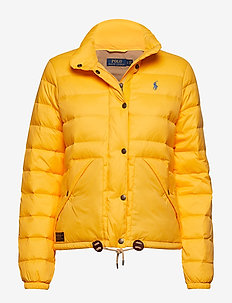 Quilted Down Jacket - ATHLETIC GOLD
