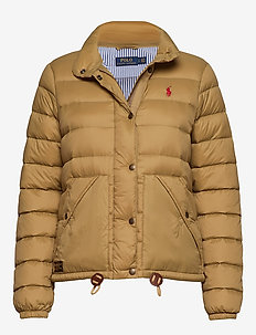 Quilted Down Jacket - DESERT TAN