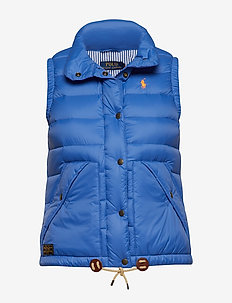 Nylon Down Vest - MAIDSTONE BLUE