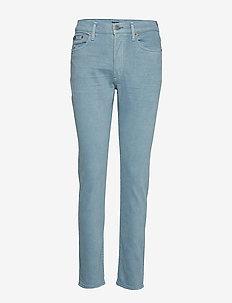 Callen High-Rise Slim Jean - proste dżinsy - soft blue