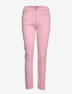 Callen High-Rise Slim Jean - PALE ROSE