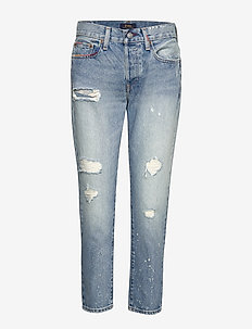 Avery Boyfriend Jean - LIGHT INDIGO