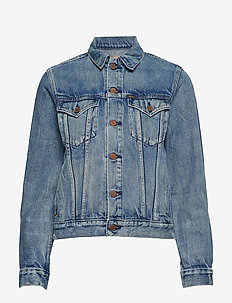 Denim Trucker Jacket - LIGHT INDIGO