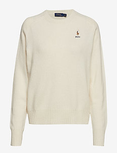 Wool Crewneck Sweater - CREAM