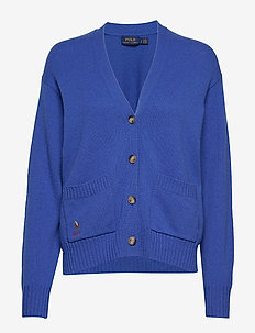 Wool Long-Sleeve Cardigan - MAIDSTONE BLUE