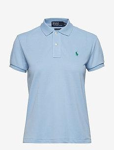 The Earth Polo Shirt - BABY BLUE