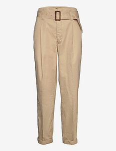 Twill Belted Pant - chinos - classic tan