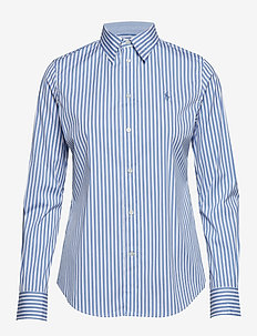 Stretch Slim Fit Striped Shirt - 952G WHITE/DRESS