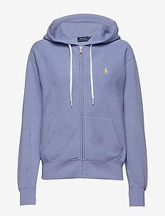 Fleece Full-Zip Hoodie - EAST BLUE