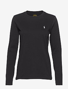 Jersey Long-Sleeve Shirt - POLO BLACK