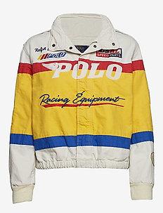 Cotton Canvas Racing Jacket - ATQ CM/N IRS/EVG
