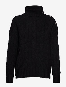 70/30 WOOL/CASH CBL-LSL-SWT - turtlenecks - charcoal heather