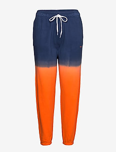 Ombré Fleece Jogger - sweatpants - navy/ orange ombr