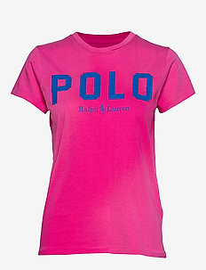 Polo Cotton Tee - logo t-shirts - accent pink