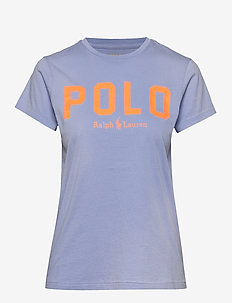 Polo Cotton Tee - logo t-shirts - dress shirt blue