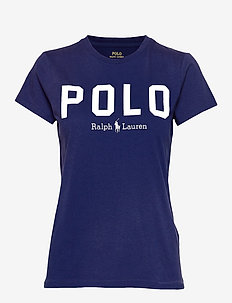 Polo Cotton Tee - logo t-shirts - holiday navy