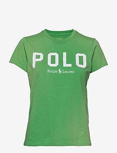 Polo Cotton Tee - TILLER GREEN