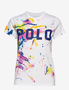 Polo Paint-Graphic Tee - PAINT SPLATTER