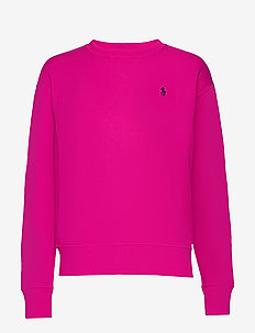 Fleece Pullover - sweatshirts - accent pink