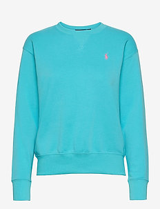 Fleece Pullover - sweatshirts - perfect turquoise