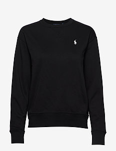 Fleece Pullover - sweatshirts - polo black