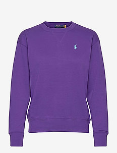 Fleece Pullover - sweatshirts - purple rage