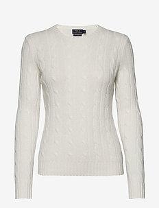 Cable-Knit Cashmere Sweater - kashmir - cream