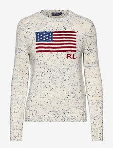 Flag Wool Sweater - jumpers - multi