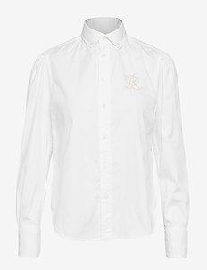 Cotton Oxford Shirt - BSR WHITE
