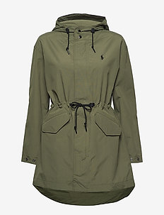 Water-Repellent Windbreaker - sadevaatteet - expedition olive