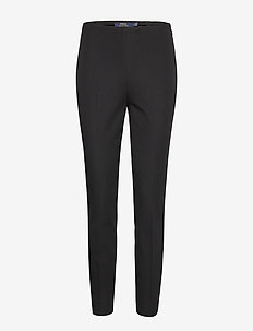 Bi-Stretch Skinny Pant - straight leg trousers - polo black