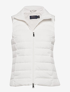 Packable Down Vest - warm white