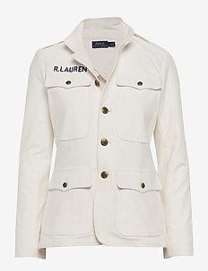 Cotton Stretch Blazer - NEVIS