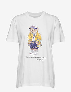 Polo Bear Crewneck Tee - WHITE