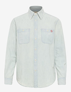 Polo Bear Chambray Shirt - denim shirts - chambray