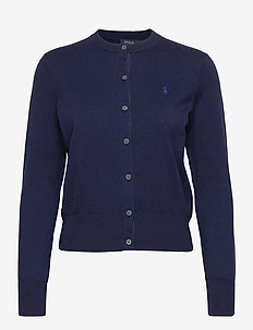 Cotton Cardigan - cardigans - bright navy