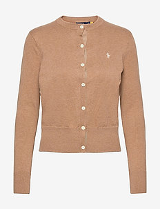 Cotton Cardigan - cardigans - collection camel