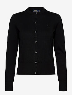 Cotton Cardigan - cardigans - polo black