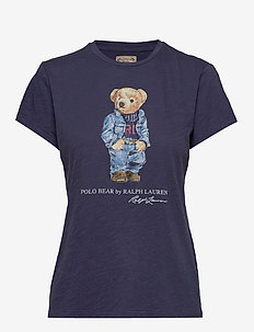Polo Bear Crewneck Tee - t-shirts - classic royal
