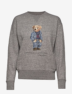Polo Bear Fleece Sweatshirt - sweatshirts - dark vintage heat