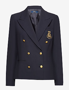 Bullion Double-Breasted Blazer - COLLECTION NAVY