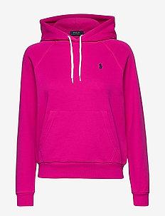 FEATHERWEIGHT FLC-LSL-KNT - hoodies - accent pink