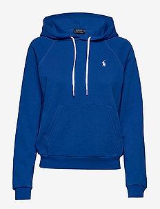 FEATHERWEIGHT FLC-LSL-KNT - hoodies - heritage blue