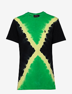 Big Fit Tie-Dye Tee - t-shirts - stem/polo black m