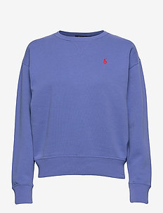 Fleece Pullover - sweatshirts - resort blue