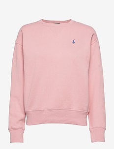 Fleece Pullover - sweatshirts - resort pink