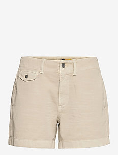 Cotton Chino Short - short chino - basic sand