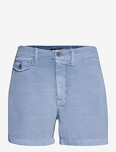 Cotton Chino Short - chino shorts - carson blue