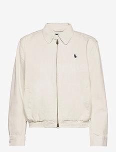 Cotton Chino Jacket - bomber jackets - warm white