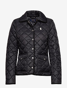 Cropped Barn Jacket - quilted jakker - polo black
